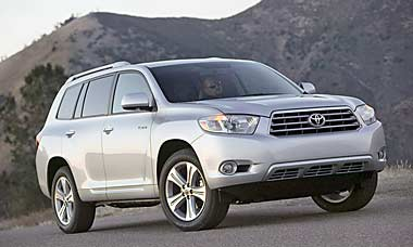Toyota Highlander Parts
