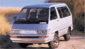 Toyota Van Parts